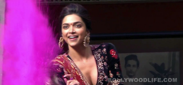 Whose blood has hit Deepika Padukone's mouth?