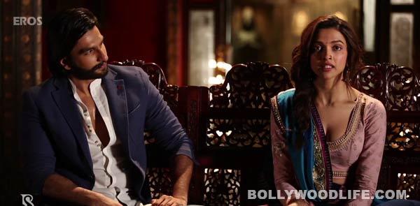 Ram-Leela song Nagada sang dhol making: Deepika Padukone tries to perfect her garba moves!