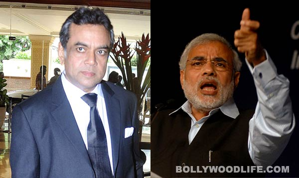 Paresh Rawal to step into Narendra Modi's shoes?