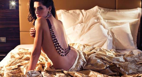 Nargis Fakhri topless - sexy and sensuous!