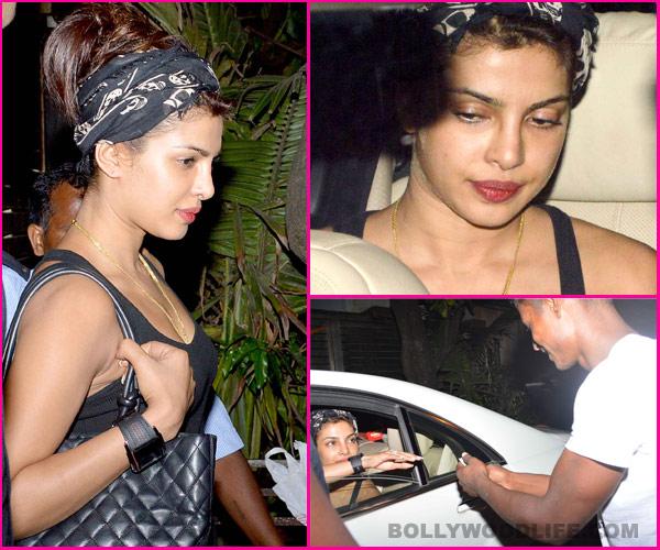 Does Priyanka Chopra look exotic without makeup?