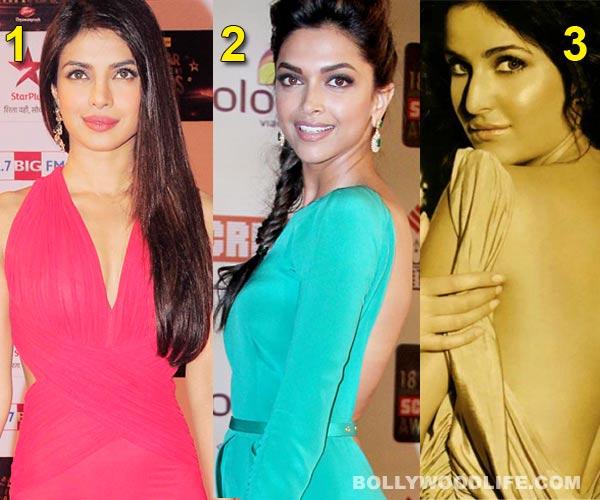 Priyanka Chopra's back sexier than Deepika Padukone and Katrina Kaif!
