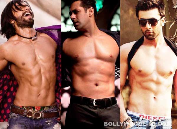 Bollywood's shirtless brigade: Are Ranveer Singh, Ranbir Kapoor going the Salman Khan way?