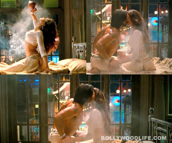 Deepika Padukone jumps into bed with Ranveer Singh!
