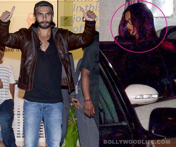 Ranveer Singh discharged; Deepika Padukone picks him up from hospital - View pics & video!