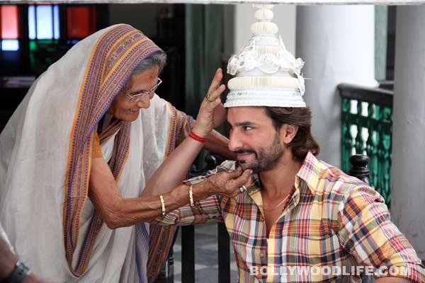 Saif Ali Khan turns Bengali dulha!