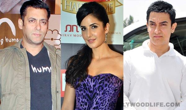Will Salman Khan and Katrina Kaif attend Aamir Khan's Diwali party together?