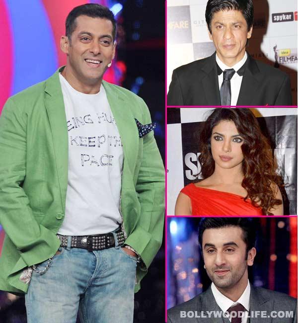 Shahrukh Khan, Ranbir Kapoor or Priyanka Chopra - Who will host Bigg Boss if Salman Khan quits? Vote!