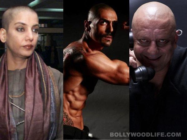 Shabana Azmi, Rampal, Sanjay Dutt - bald and the beautiful!
