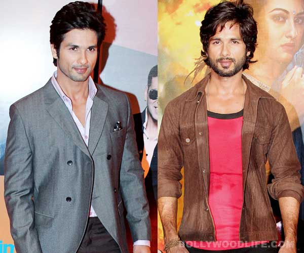 Shahid Kapoor – with stubble or without?