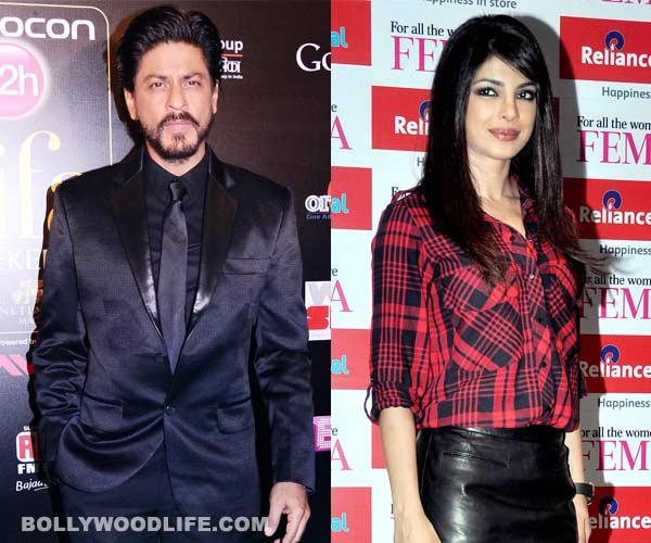 What were Shahrukh Khan and Priyanka Chopra doing in London?