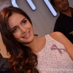 Shazahn Padamsee spreads awareness about breast cancer