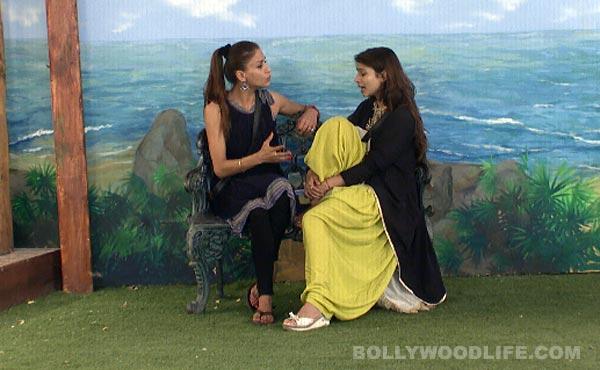 Bigg Boss 7: Tanishaa Mukerji and Shilpa Agnihotri patch up