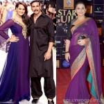 Navratri special: Do Sonakshi Sinha and Vidya Balan look pretty in purple?