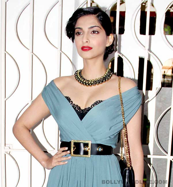 Is Sonam Kapoor studying medicine?