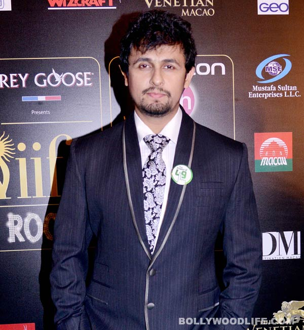 Sonu Nigam: After a point you don't work for money or fame