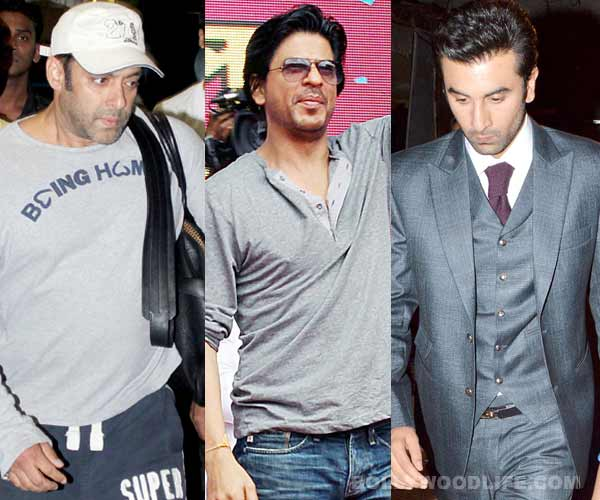 Navratri Special: Shahrukh Khan, Salman Khan and Ranbir Kapoor flaunt shades of grey!