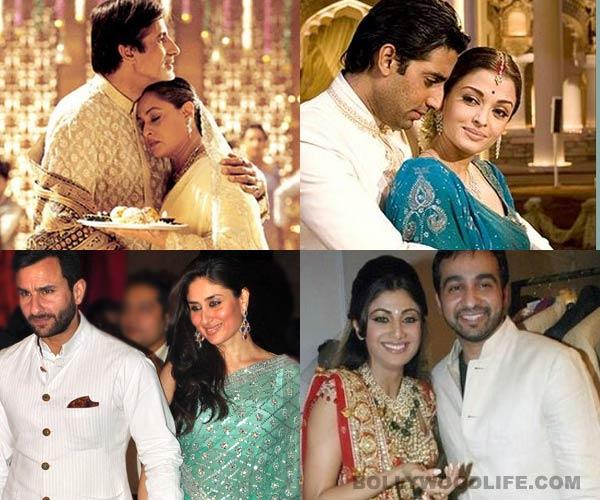 Karva Chauth special: Aishwarya Rai Bachchan, Twinkle Khanna, Shilpa Shetty fast for their husbands - view pics!