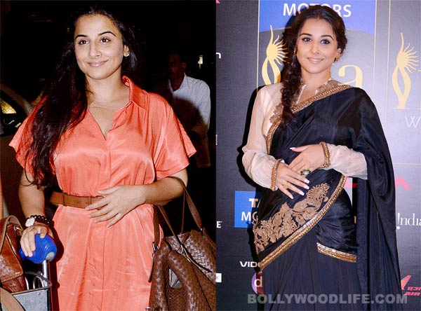 Does Vidya Balan prefer Shruti Sancheti over Sabyasachi creations?