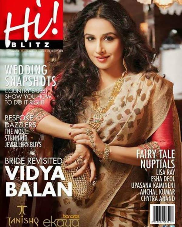 Is Vidya Balan all ready for Navratri?