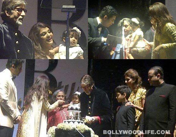 How did Aaradhya Bachchan wish grandpa Amitabh Bachchan on his birthday?