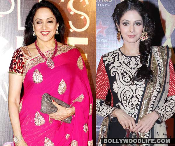 Why did Hema Malini and Sridevi avoid each other?