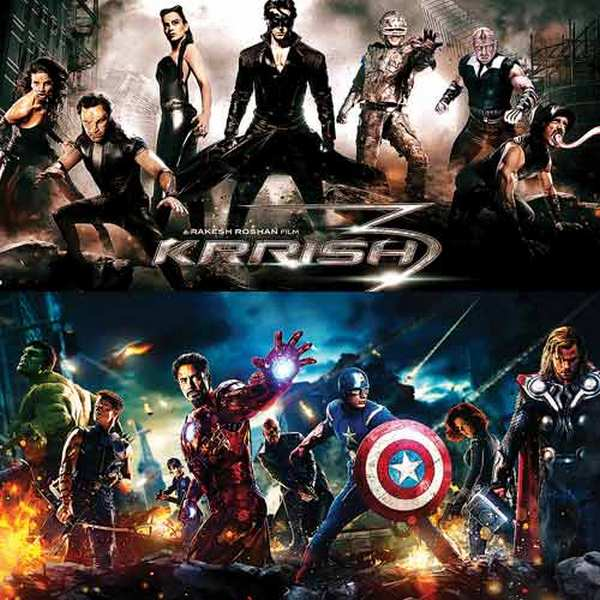 Hrithik Roshan's Krrish 3: Inspired by Avengers, or is it?