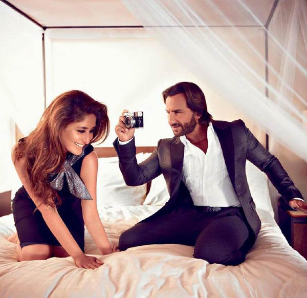 Is Kareena Kapoor Khan and Saif Ali Khan the most romantic couple in B-town? : Watch video!