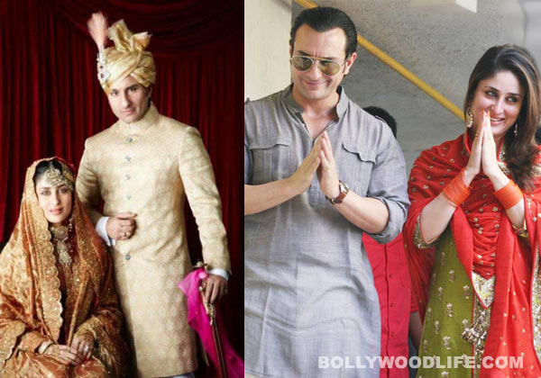 On October 16 Last Year Bandra Was The Destination Of Media And Fans It Day That Saif Ali Khan Married Long Time Lover Kareena Kapoor