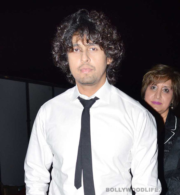 Why is Sonu Nigam angry?