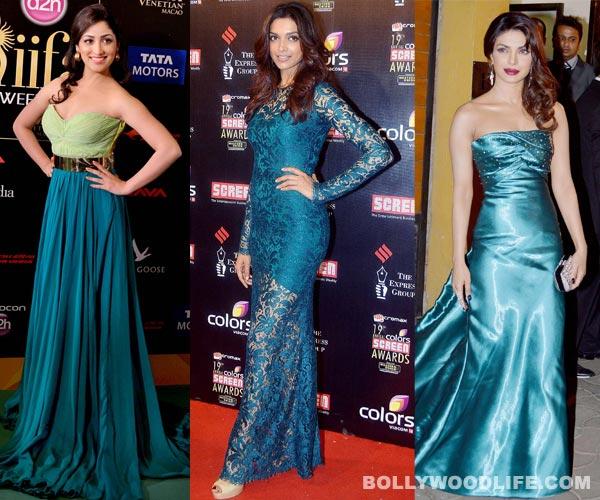Navratri special: Deepika Padukone and Priyanka Chopra look picture perfect in peacock green!