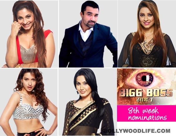 Bigg Boss 7 nominations: Tanishaa Mukherji, Gauahar Khan, Pratyusha Banerjee, Kamya Punjabi and Ajaz Khan nominated