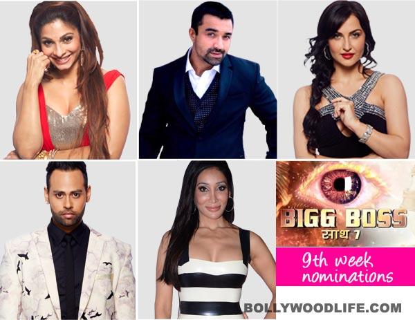 Bigg Boss 7 nominations: Tanishaa Mukherji, Elli Avram, VJ Andy, Ajaz Khan and Sofia Hayat nominated