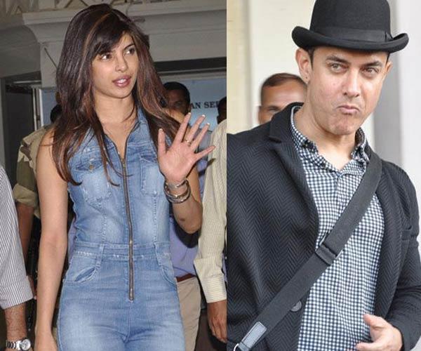 Why did Priyanka Chopra and Aamir Khan go to Jodhpur?