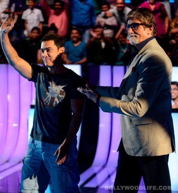 How did Aamir Khan surprise Amitabh Bachchan?