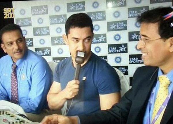 Superstitious Aamir Khan ditches Dhoom:3 look to watch Sachin Tendulkar's last match!