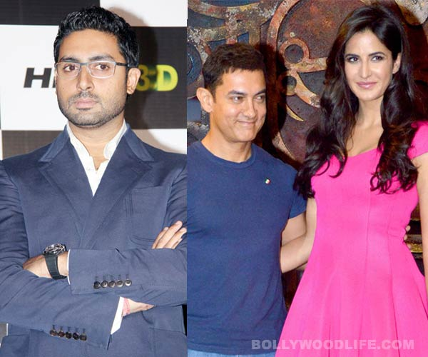 Is Aamir Khan trying to sideline Abhishek Bachchan from Dhoom:3 promotions?
