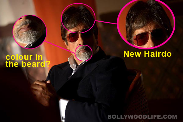 Is Amitabh Bachchan trying too hard to look young? View pic!