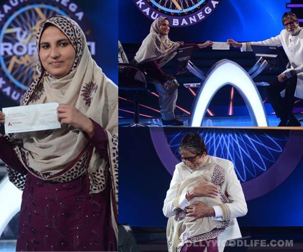 Kaun Banega Crorepati 7: Firoz Fatma becomes the first woman crorepati