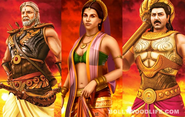Amitabh Bachchan, Vidya Balan, Sunny Deol: Who is the best animated character from Mahabharat?