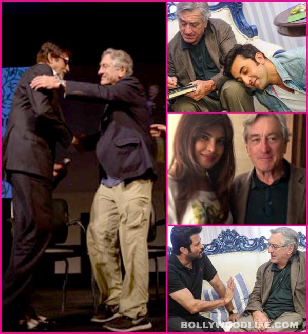 Amitabh Bachchan, Ranbir Kapoor, Priyanka Chopra - Who is Robert De Niro's biggest fan?
