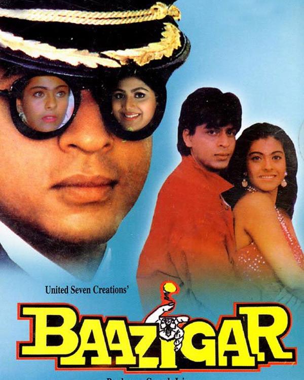 Shahrukh Khan And Kajol's Baazigar Turns 20