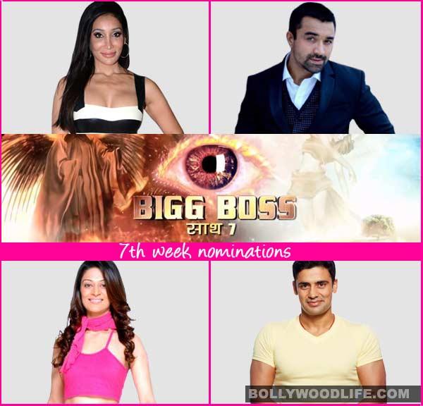 Bigg Boss 7 nominations: Sangram Singh, Ajaz Khan, Sofia Hayat and Candy Brar nominated