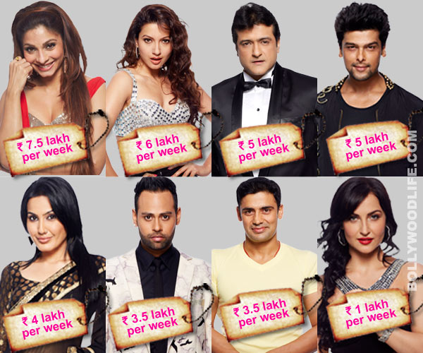 Bigg Boss 7: Are Tanishaa Mukherji and Gauahar Khan the highest paid contestants in the house?