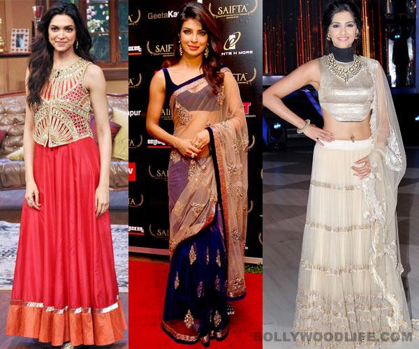 Diwali special: Deepika Padukone, Priyanka Chopra or Sonam Kapoor - Who is the hottest pataka in B-town?