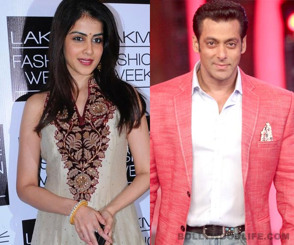 Genelia D'souza to play Salman Khan's sister in Jai Ho?