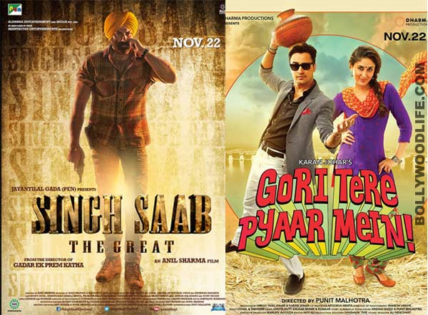 Box office report: Both Sunny Deol and Kareena Kapoor Khan's films struggling at the box office