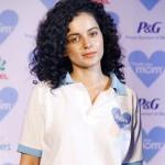 Why did Kangna Ranuat hurt herself?