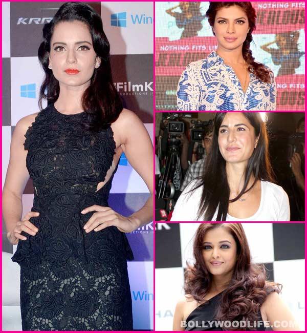 What does Kangna Ranaut have that Priyanka Chopra, Katrina Kaif and Aishwarya Rai Bachchan don't?