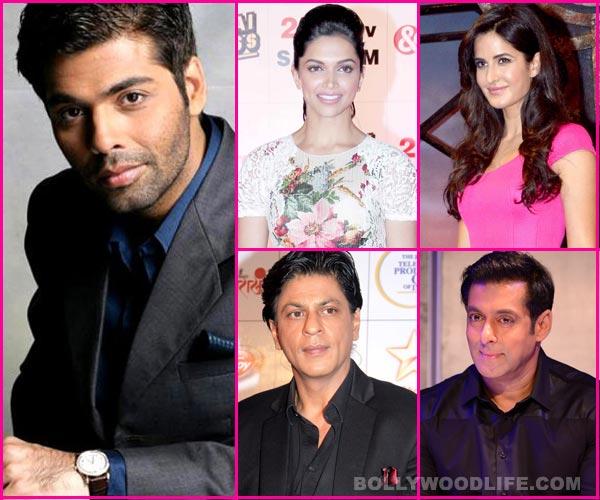 Will Karan Johar manage to bring Shahrukh Khan-Salman Khan, Katrina Kaif-Deepika Padukone together on Koffee with Karan?